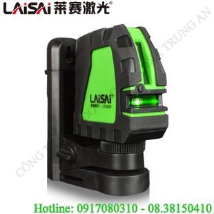 Máy lấy cos laser 2 tia xanh treo tường Laisai LSG609