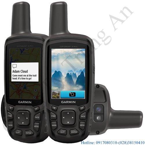 Máy định vị cầm tay có camera Garmin GPS MAP 64SC