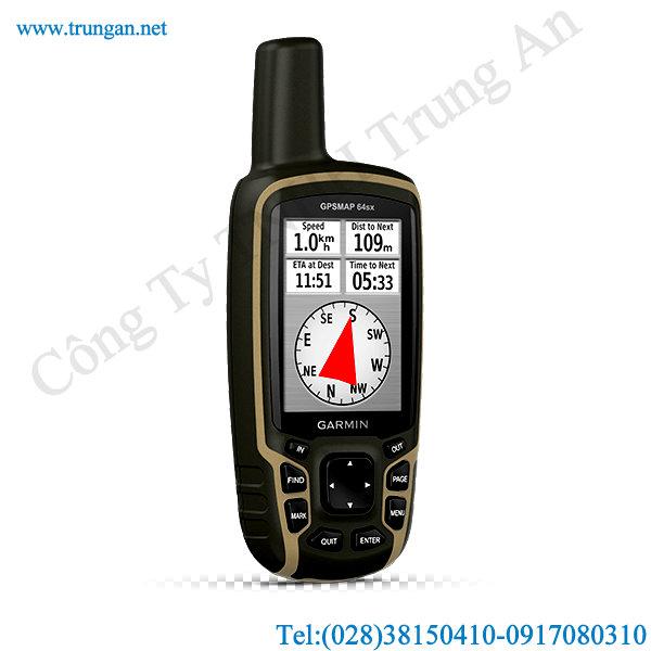 Máy định vị GPS Garmin GPSMAP 64sx