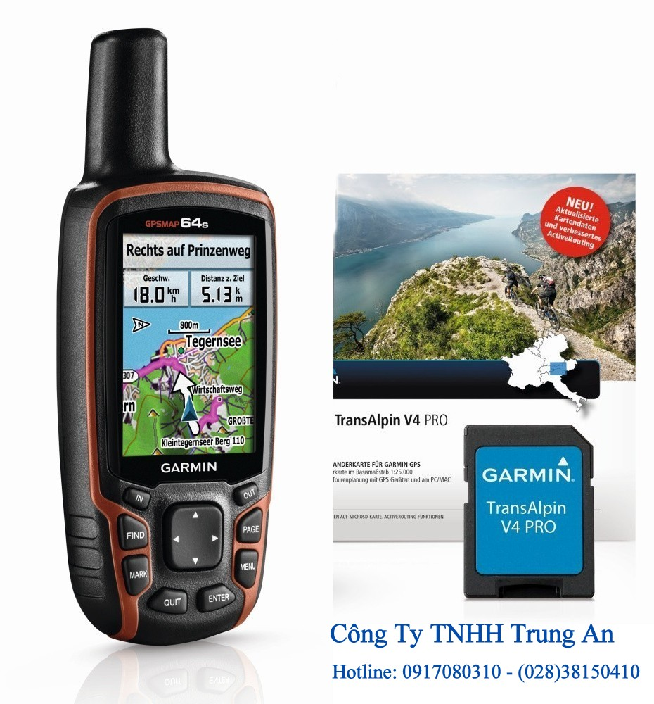 Máy Garmin GPSMap 64s